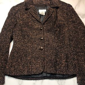 Escada by Margaretha Ley Vintage Boucle Blazer